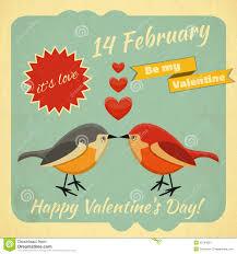 vintage valentines vintage valentines day card stock image image 35794591