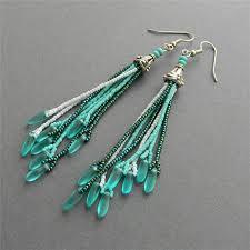 cool dangle earrings crafting wire top 5 beaded earrings roundup