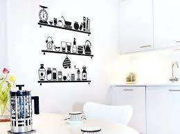 sticker meuble cuisine stickers deco cuisine sticker etageres cuisine fanastickcom idee