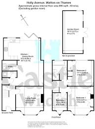 walton house floor plan 3 bed semi detached house for sale in holly avenue walton on