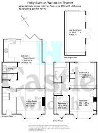 holly avenue walton on thames surrey kt12 3 bedroom semi