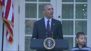 obama appears to take at during turkey pardon politico