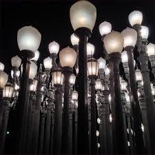 furniture lacma hollywood los angeles street lights moma light