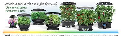amazon com aerogarden 7 with gourmet herb seed kit plant