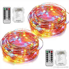 led color changing globe string lights with remote diy christmas 33ft led string lights battery operated lights multi