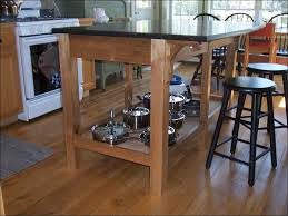 kitchen microwave stand with storage island with seating small