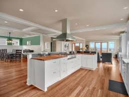 open plan kitchen family room ideas kitchen family room floor plans best ideas open living room and