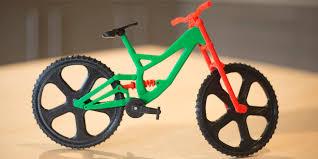 3 D Video The Biker Less Mountain Bike Stop Motion Video Captures Miniature