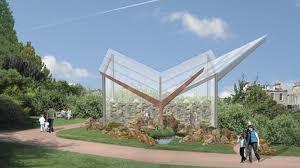 new alpine house for the royal botanic gardens edinburgh pro