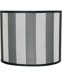black and white striped l shade check out these deals on aspen creative 31091 transitional drum