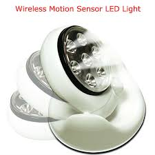 battery operated motion activated light 2set lot light angel battery operated cordless 7white led motion