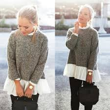 knitted sweater dyba sleeve knitted sweater fray