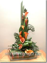 flower arranging contemporary leaf manipulation course