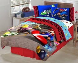 amazon super mario boy kids comforter sets with twin the race