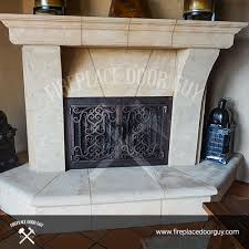 Contemporary Fireplace Doors by California Fireplace Door Guy