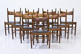 teak dining chairs by illum wikkelsø for brøderna tromborg 1950s