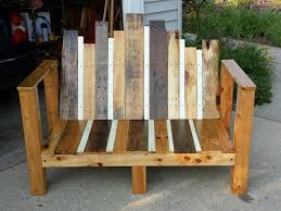 Outdoor Wood Sofa Plans Corner Garden Benches 107 Inspiration Furniture With Rattan Corner