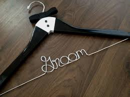 personalized wedding hangers groom hanger personalized wedding hangers groom gift
