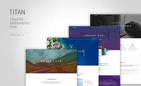 titan one page multi page html5 bootstrap multipurpose template