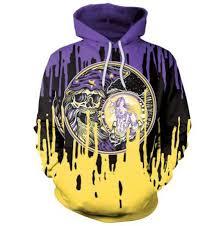 graffiti skull 3d hoodie hip hop halloween sweatshirt for