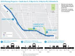 Seattle Map Pdf by Seattle Department Of Transportation 2018 Seattle Paving Projects
