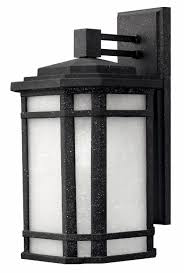 Craftsman Style Outdoor Lighting by Vintage Black Cherry Creek U003e Exterior Wall Mount