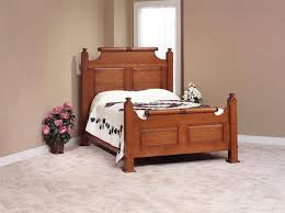 holmes county amish made bedroom furniture set in white oak