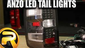 2000 chevy silverado tail light assembly how to install anzo led tail lights on a chevrolet silverado youtube