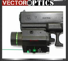 best laser light for glock 17 vectop optics tactical led flashlight torch green dot laser sight