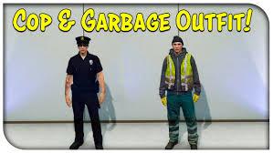 gta 5 online new police uniform u0026 garbage man glitch