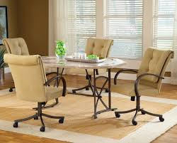 kitchen chairs acclaim kitchen chairs with rollers amazing