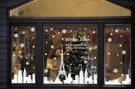 christmas window decorations christmas shop window decorations home design and decorating