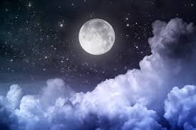the moon came out from the clouds wallpapers and images