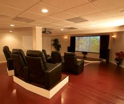 What Is The Best Flooring For Basements by Finished Basement Wood Flooring Mi And Wi