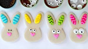 rabbit cookies rabbit cookies with chevron ears a cookie and royal icing