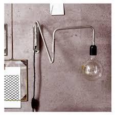 Wandlampe Schlafzimmer Braun Wandlampe Wallmet Metal Bewegliche Wandlampe Wallmet Im