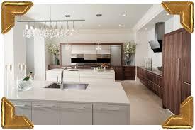 Walnut Kitchen Designs Create The Look Wood Mode White Kitchen Walnut Veneer Modern
