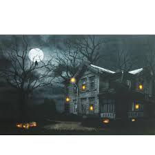 northlight 15 75 in x 19 5 in led lighted moonlit halloween