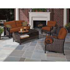 Unilock Patio Designs by Exterior Wrought Iron Outdoor Dining Furniture Sets With Lazy Boy