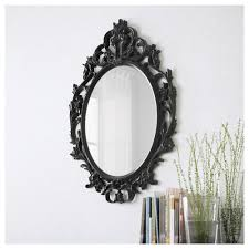 Oval Mirrors For Bathroom by Ung Drill Mirror Ikea