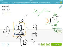 showme solving 2 step equations with decimals