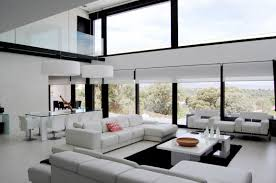modern house living room garden house living room modern living