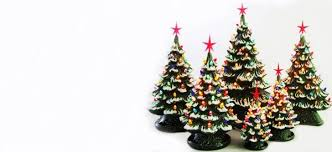 ceramichristmas tree lights bulbs ornaments and