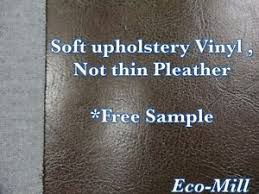 Upholstery Fabric Faux Leather Vancouver Vinyl Brown Upholstery Fabric Faux Leather Soft Hand