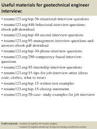 engineering resume for internship top 8 geotechnical engineer resume sles
