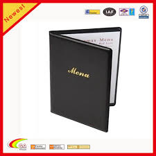 Restaurant Menu Covers Factory Sale Cheap Leather Menu Covers For Restaurant Buy