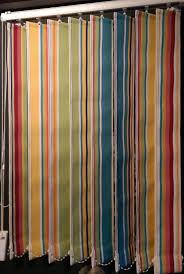 striped vertical blinds the stripes company uk