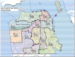 Zip Code Map San Jose by San Francisco Supervisor District Map Michigan Map