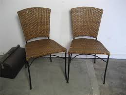 rattan kitchen furniture best wicker dining chairs ideas design idea and decors