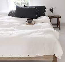 All Zipped Up Duvet Covers 100 Linen Duvet Cover Rough Linen Natural Minimalist Bedding